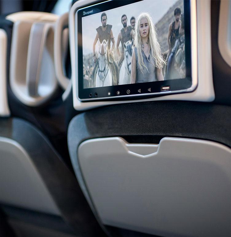 Seatback screens